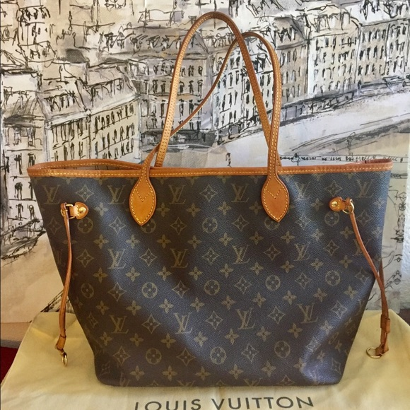 11335e594e0d Louis Vuitton Handbags - Louis Vuitton Neverfull MM Monogram Authentic
